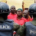 police arrest covid19 people