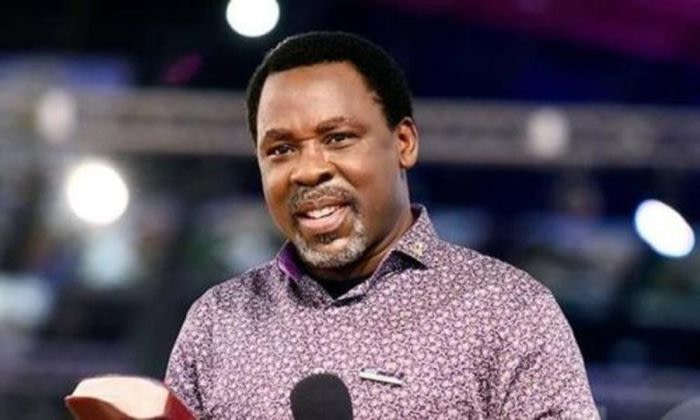Pastor TB Joshua died at age 57